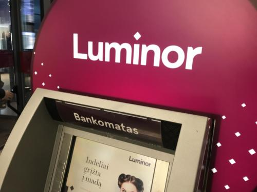 Luminor bankomatas