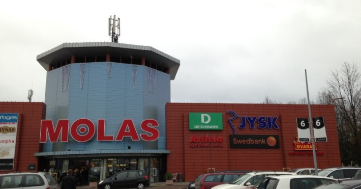 Swedbank Kaune prekybos centre MOLAS