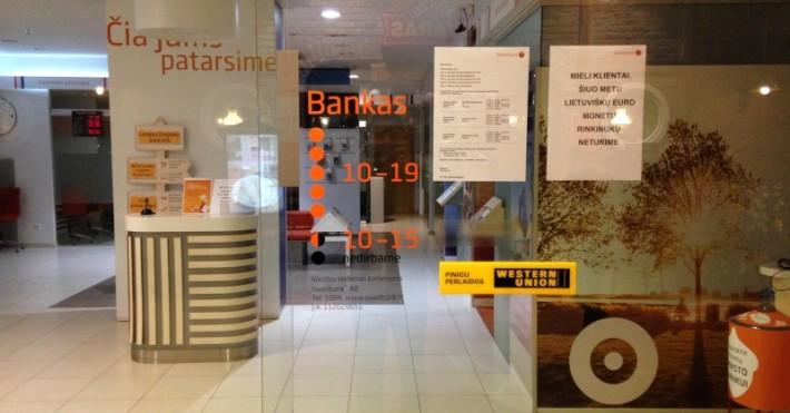 Swedbank MOLE darbo laikas