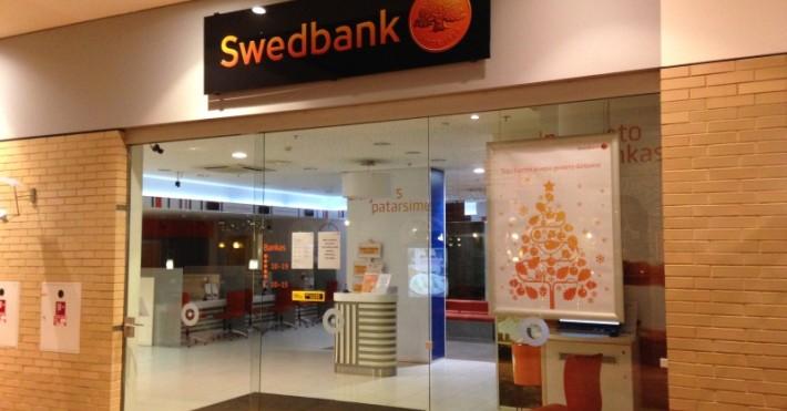 Swedbank MOLAS įėjimas
