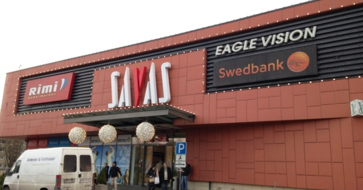 Savo Swedbank prekybos centro nuotrauka