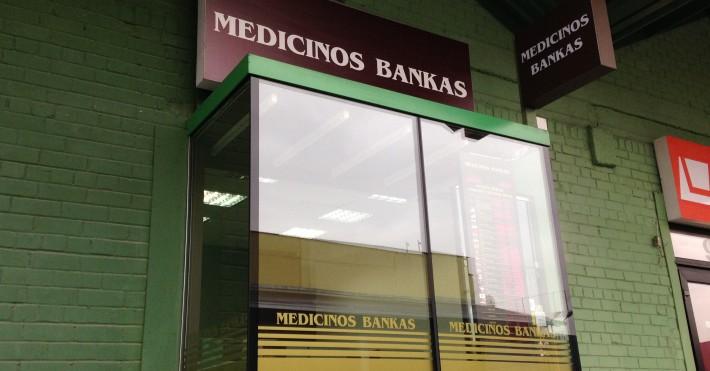 Medicinos bankas Urmas poskyris
