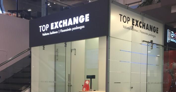 Top exchange Mados prekybos centre