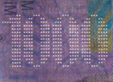 1000 Swiss francs perforated number No.2