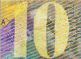 10 Swiss francs Magic number No.2