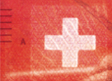 20 new Swiss francs Cross test No.2
