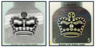 5 GBP Foil crown