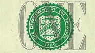 1 USD Treasury Seal