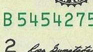 1 USD Serial Numbers