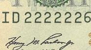 20 USD Serial Numbers