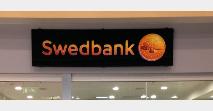 Swedbank banko skyrius