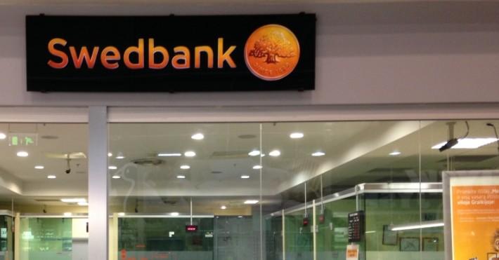 Swedbankui padėka