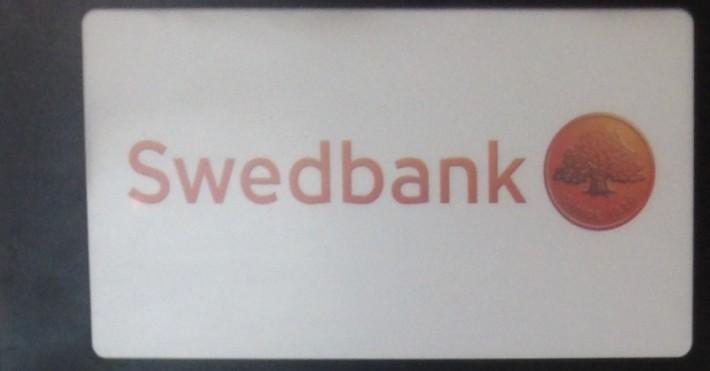 Swedbank iškaba