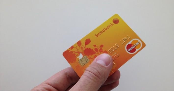 Swedbank banko kortelė