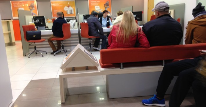 Swedbank eilės