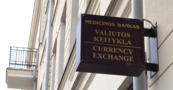 Medicinos banko iškaba mini