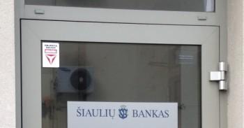 Šiaulių bankas aptarnauja blogai mini