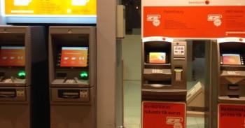 Swedbank bankomatai mini