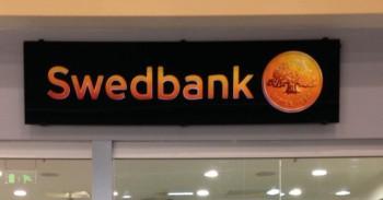 Swedbank banko skyrius mini