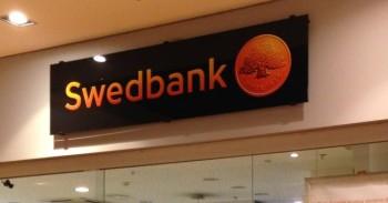 Swedbank skyrius, aptarnavimas mini