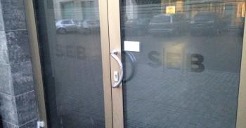 SEB neaptarnauja klientų mini