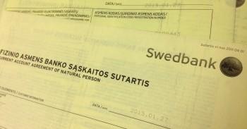 Swedbank sutartis mini