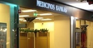 Medicinos bankas mini