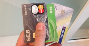 SEB kortelės mini