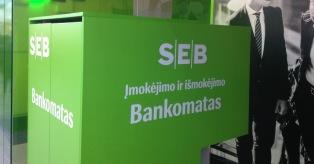 SEB bankomatai mini
