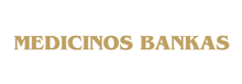 Medicinos bankas logotipas