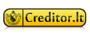 Creditor.lt greitieji kreditai, palūkanos logotipas