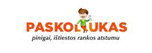Paskoliukas logotipas
