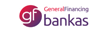 GF bankas logotipas