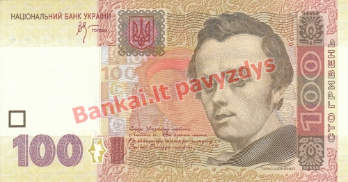 100 Hyrvenų banknoto priekinė pusė
