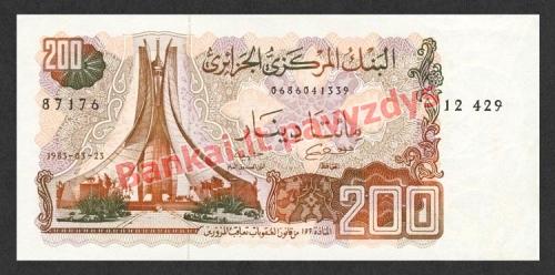 200 Dinarų banknoto priekinė pusė