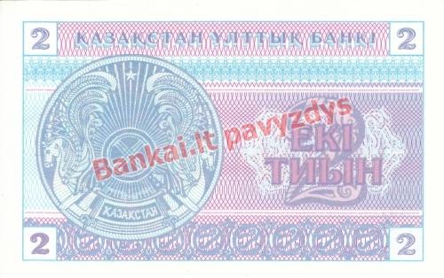 2 Tyinų banknoto galinė pusė