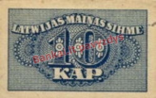 10 Kapeiku banknoto priekinė pusė