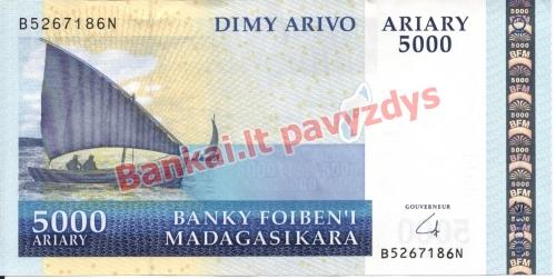 5000 Arairių banknoto priekinė pusė