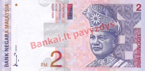 2 Ringito banknoto priekinė pusė