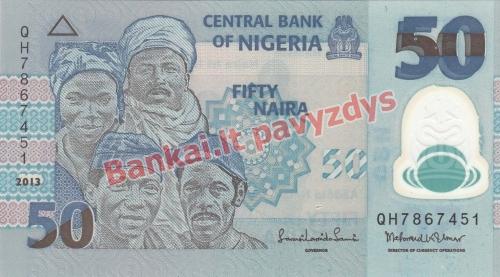 50 Nairų banknoto priekinė pusė