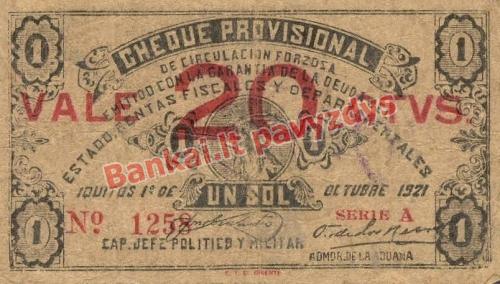 20 Centavų banknoto priekinė pusė