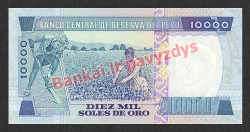 10000 Solių banknoto galinė pusė