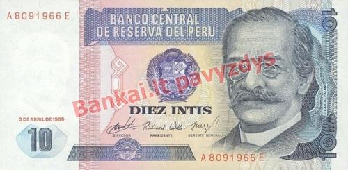 10 Inčių banknoto priekinė pusė