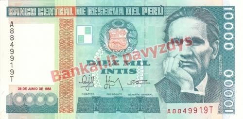 10000 Inčių banknoto priekinė pusė