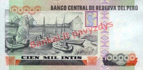 100000 Inčių banknoto galinė pusė