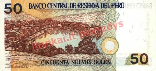 50 Nuevos  banknoto galinė pusė