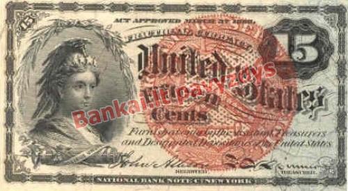 15 Centų banknoto priekinė pusė