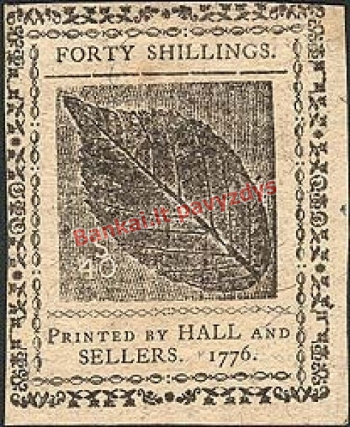 40 Šilingų banknoto priekinė pusė