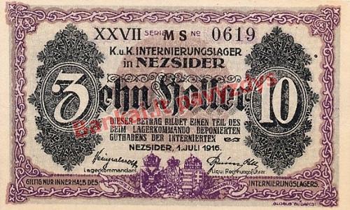 10 Filerių banknoto galinė pusė
