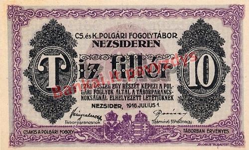 10 Filerių banknoto priekinė pusė